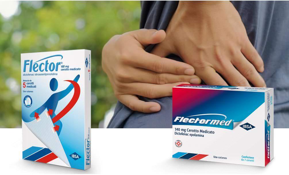 Flector: cerotto antinfiammatorio analgesico