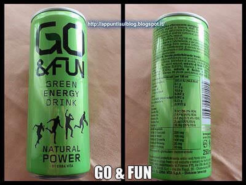 Go & Fun, energia pura senza effetti collaterali
