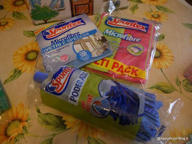 Spontex: un riccio a difesa delle pulizie 4 articoli per la casa