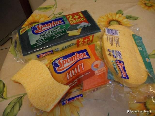 Spontex: un riccio a difesa delle pulizie 3 articoli per la casa