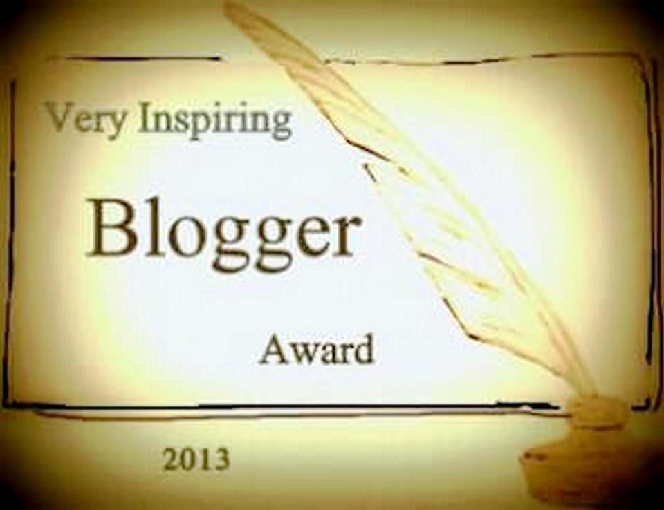 Premio VERY INSPIRING BLOGGER AWARD 2017