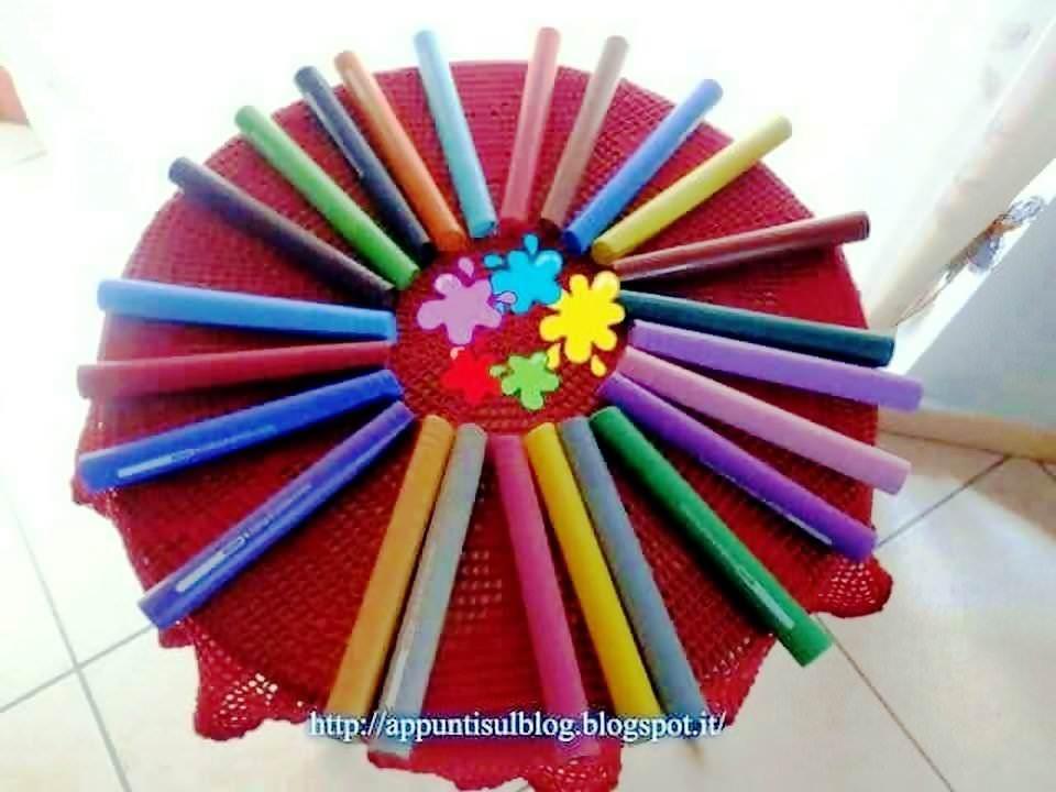 Coloriamo con i pennarelli Koh-I-Noor in allegria e destrezza 2 articoli casa