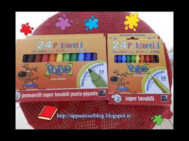 Coloriamo con i pennarelli Koh-I-Noor in allegria e destrezza 1 articoli casa
