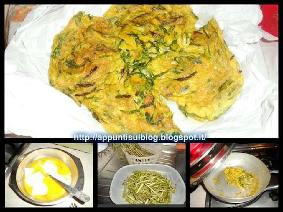 Menu del giovedì, paccheri Elianto, frittata e insalata 3 Ariosto