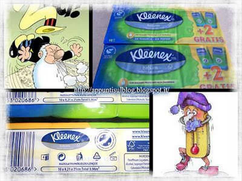 Kleenex, fazzoletti monouso per ogni esigenza 2 articoli per la casa