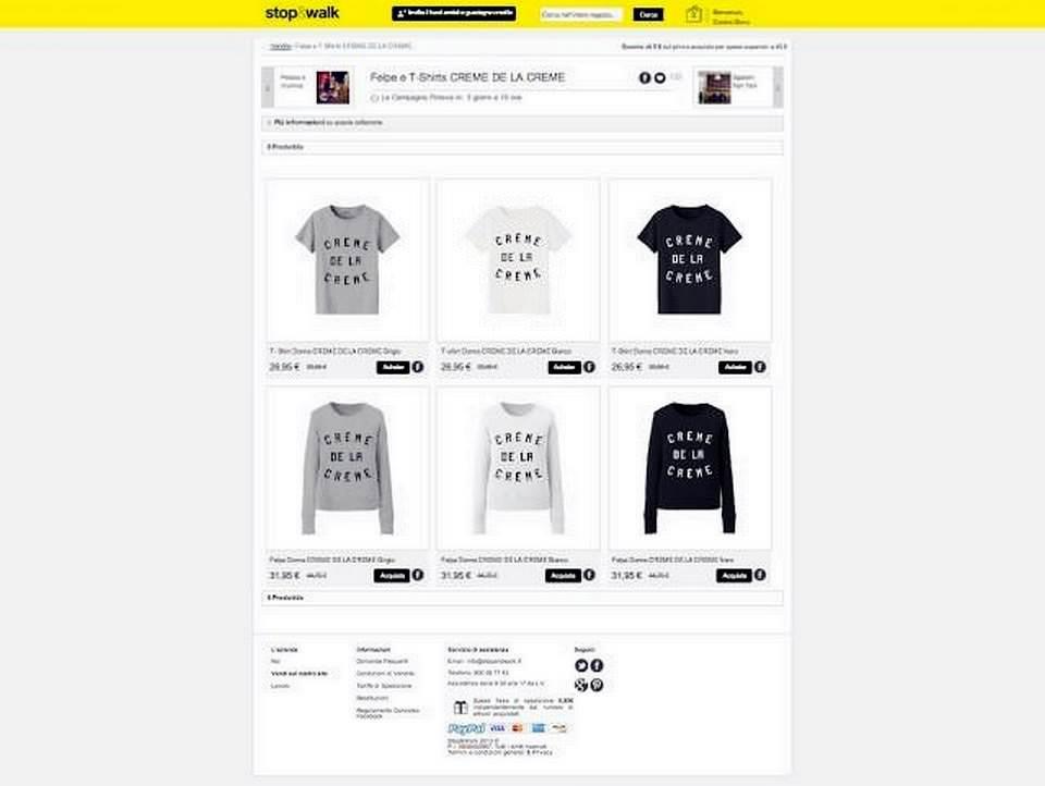 Stop and walk, shop online di moda, decorazioni e accessori 3 Moda