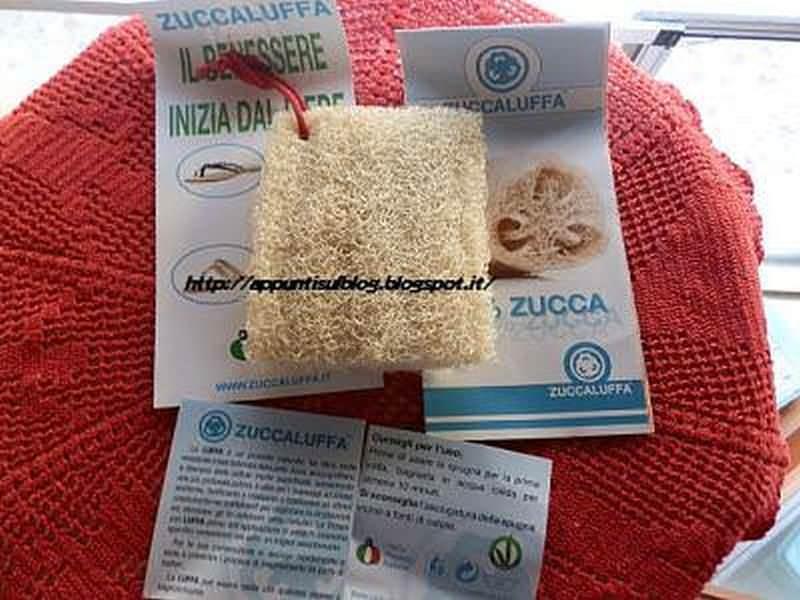 Zuccaluffa, spugna vegetale multiuso e indeformabile