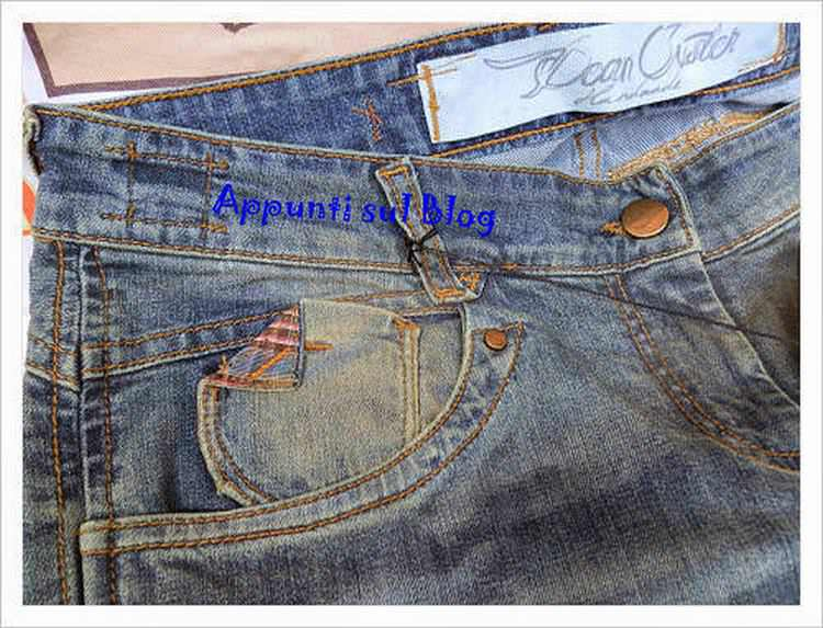 Dean Juster, jeans d'alta moda made in Italy