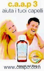 C.a.a.p3. shampoo Anticaduta coadiuvante contro la caduta dei capelli