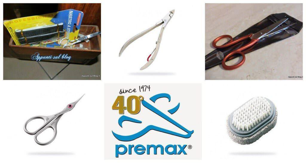 Premax: forbici professionali e speciale NailArt