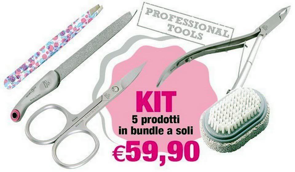 Premax: forbici professionali e speciale NailArt 7 articoli da taglio