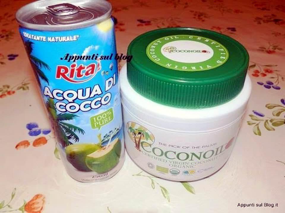 Rita Coconut Water e Coconoil ( olio uso cucina).