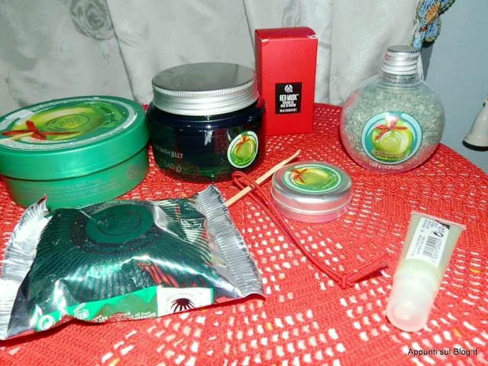 The body shop: idee regalo 2014, linea natalizia alla mela candita 2 #beauty