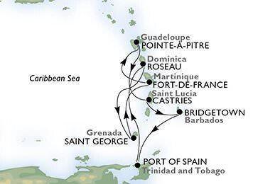 Msc Crociere, vacanze invernali al sole dei Caraibi