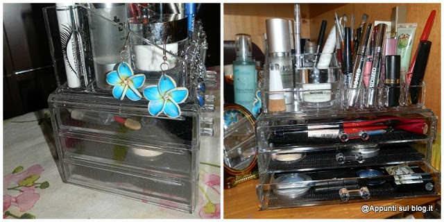 Ohuhu, makeup organizer e dispenser