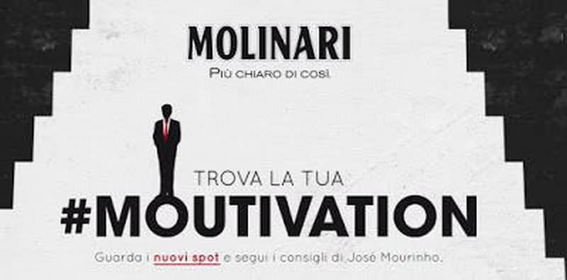 L'azienda Molinari e Mourinho insieme nella sfida #moutivation 1 arbitro