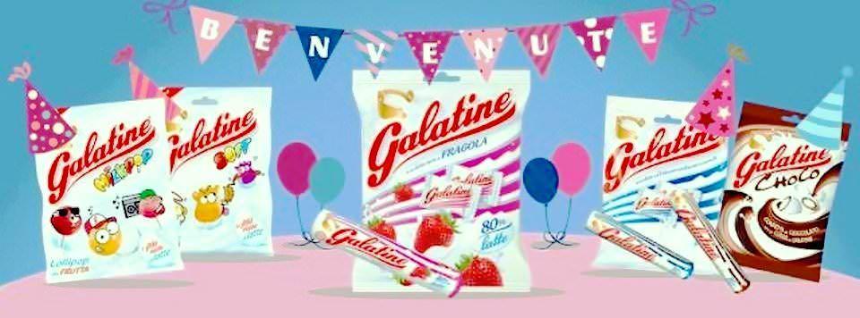 Galatine, permissible candy dall'esperienza di latte inimitabile 1 Caramelle Galatine Senza Glutine