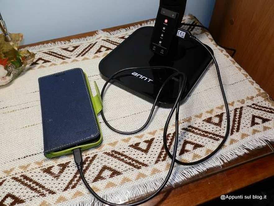 ANNT® 14W Lampada LED da tavolo con Porta USB e funzione timer