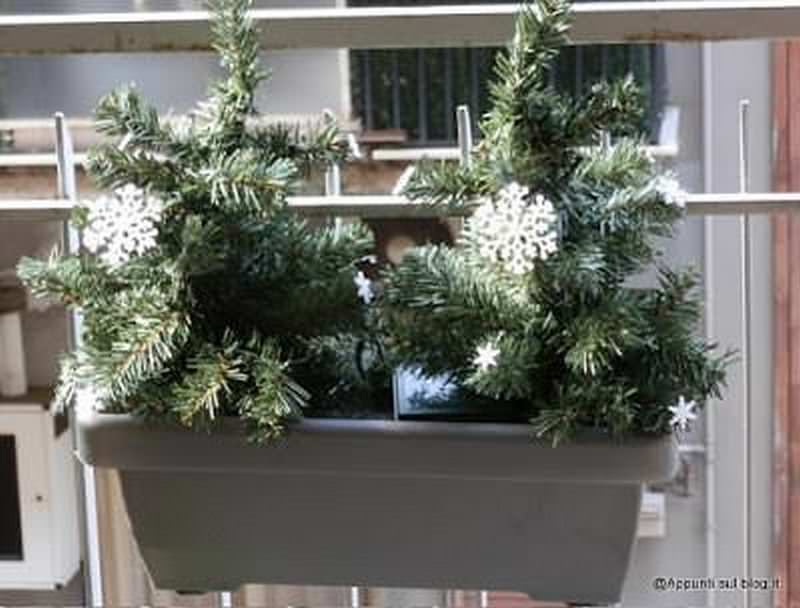 Blumfeldt, fioriera 20 luci LED con fiocchi di neve 3 articoli casa