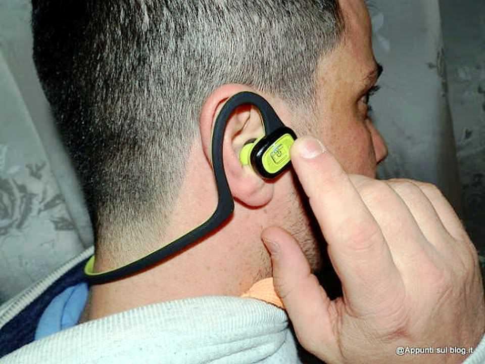 cuffie bluetooth TaoTronics cuffie Auricolari wireless per attività fisica