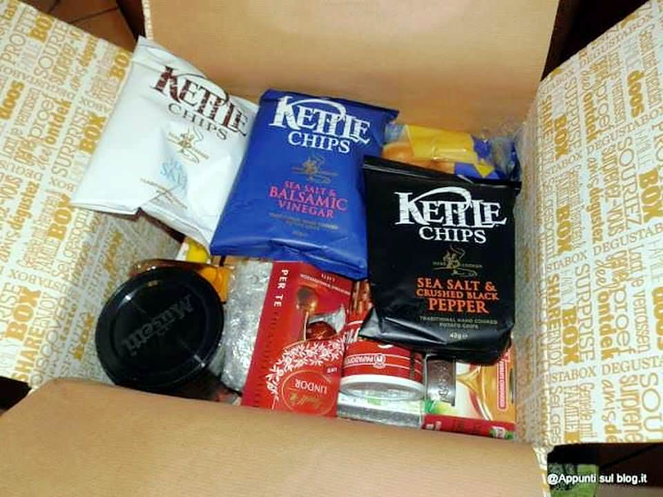 Degustabox, gusto e varietà a volontà 1 box Degustabox