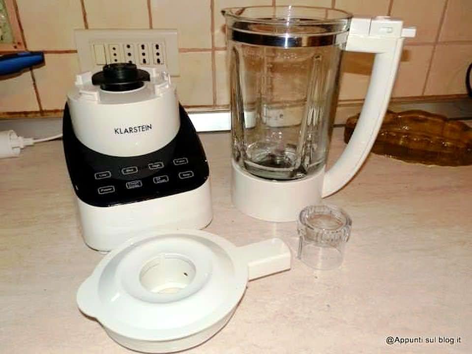 Klarstein Touch & go Mixer per frantumare alimenti duri e morbidi 1 articoli per la casa