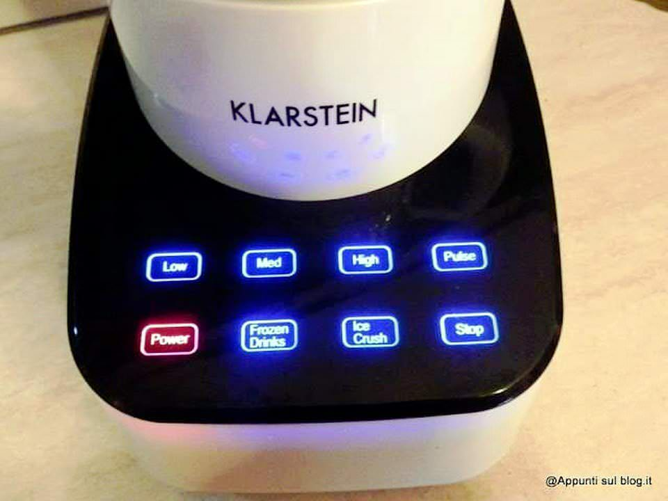 Klarstein Touch & go Mixer per frantumare alimenti duri e morbidi 3 articoli per la casa