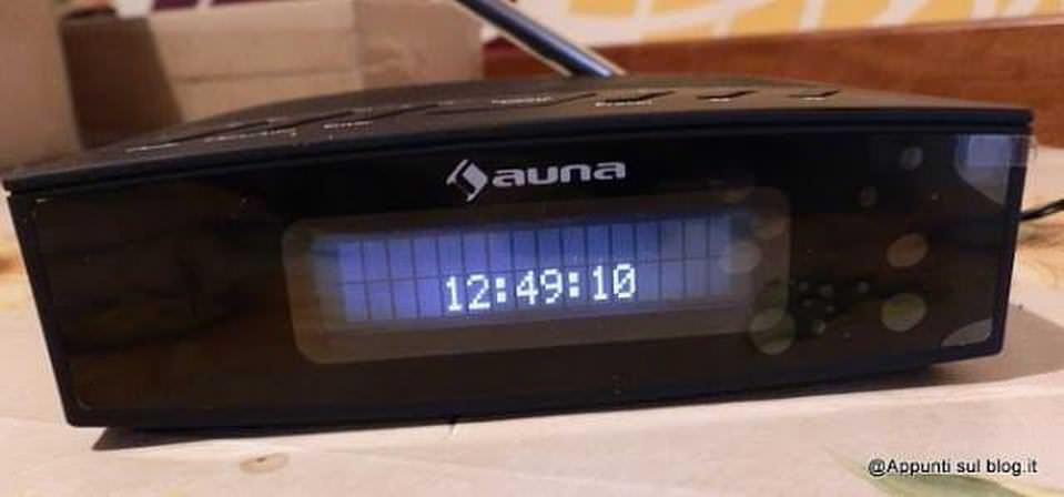 Radiosveglia DAB+ Auna Snozzer, tecnologia digitale 2 Auna