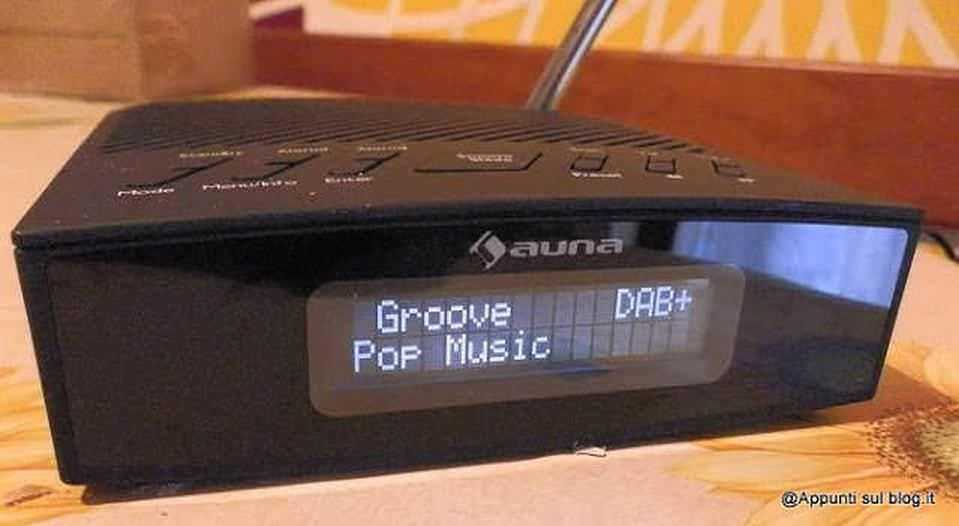 Radiosveglia DAB+ Auna Snozzer, tecnologia digitale 3 Auna