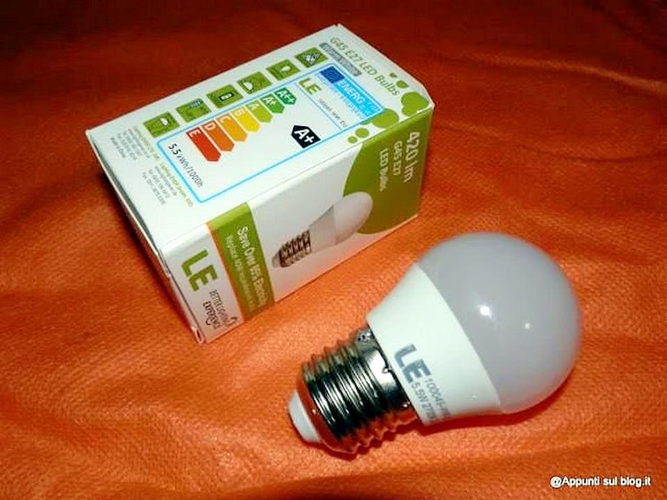 Lampadine di ogni misura ed emergenza su Lighting