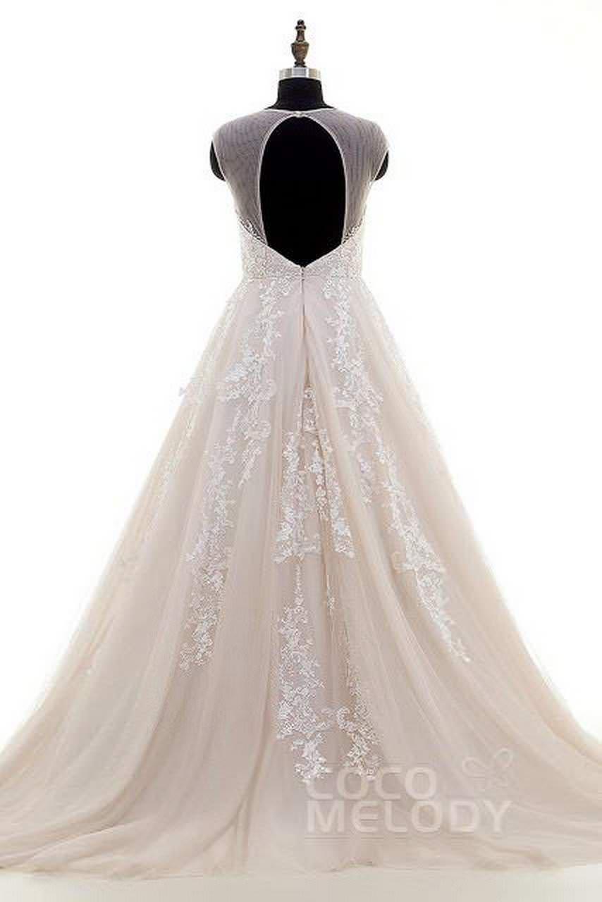 Amazing backless Wedding Dresses on Cocomelody 4 abiti da cerimonia