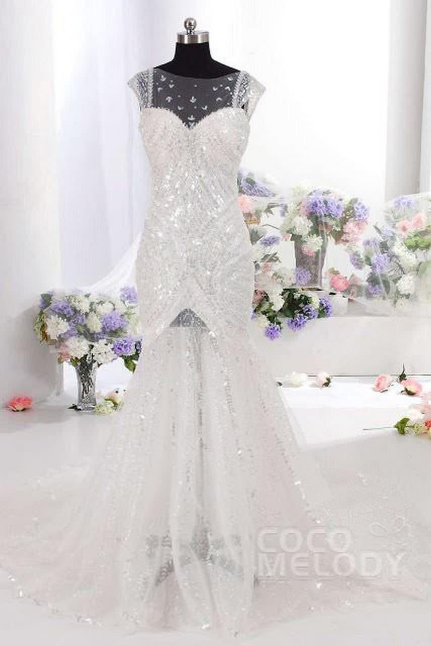 Amazing backless Wedding Dresses on Cocomelody 5 abiti da cerimonia