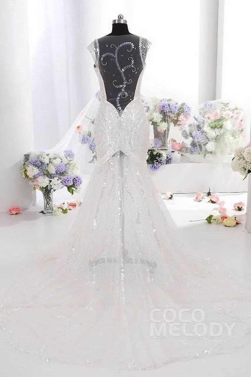 Amazing backless Wedding Dresses on Cocomelody 6 abiti da cerimonia