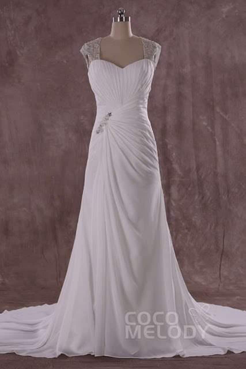 Amazing backless Wedding Dresses on Cocomelody 1 abiti da cerimonia