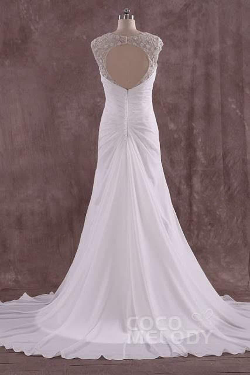 Amazing backless Wedding Dresses on Cocomelody 2 abiti da cerimonia