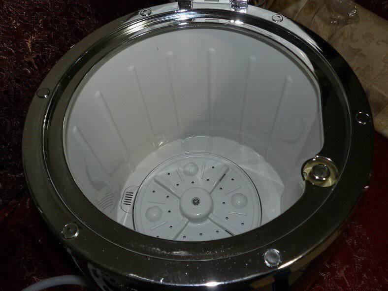 OneConcept Ecowash-Pico, mini lavatrice portatile da campeggio