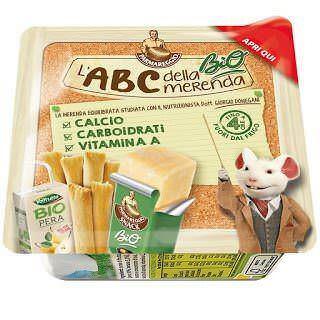 Parmareggio: nuovi snacks ABC della merenda