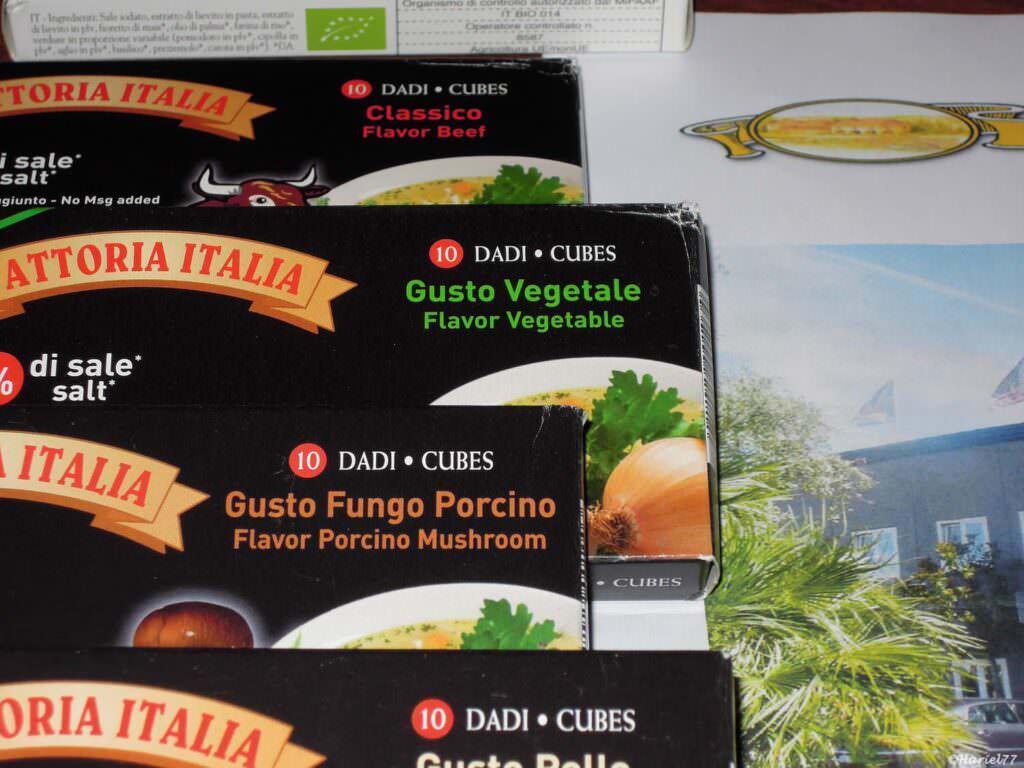 La Fattoria Italia, dado da brodo vegan porta in tavola il sapore