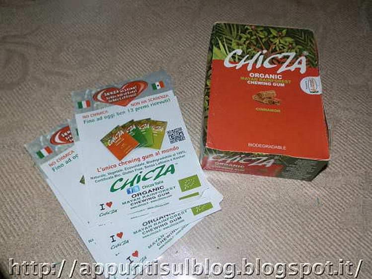 Chicza, il chewing gum biologico e senza lattosio