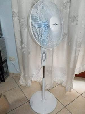 oneConcept White Blizzard 2G, ventilatore a piantana