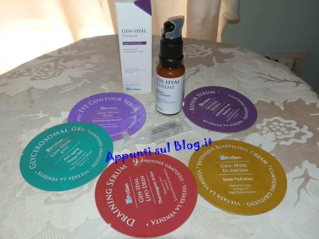 PriGen, linea dermocosmetica di alto livello formulativo