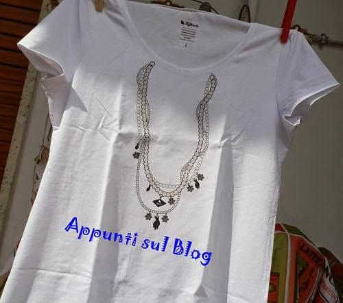 Tiffo & Co, T-shirt con coniglietti sulla maglia Charmes