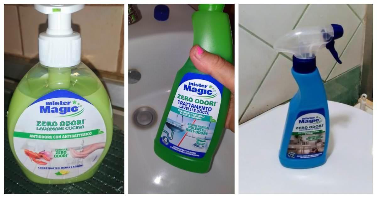 Elimina gli odori con Zero Odori di Mister Magic®