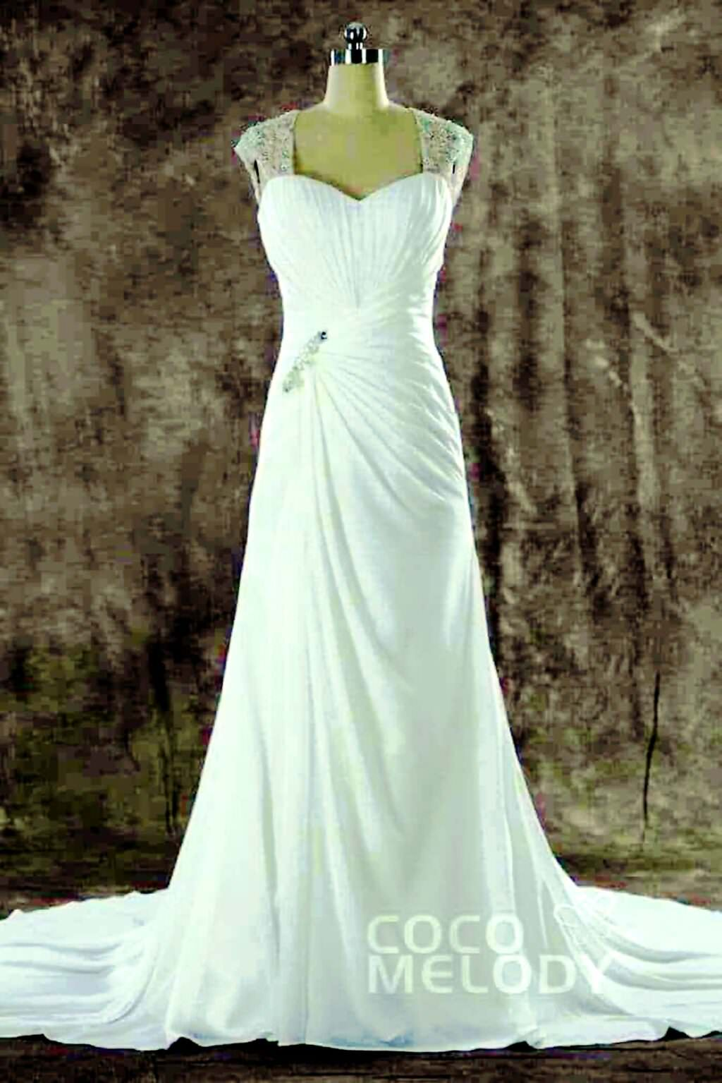 Amazing backless Wedding Dresses on Cocomelody