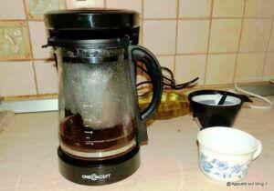 Bevande calde con OneConcept Coffee & Tea
