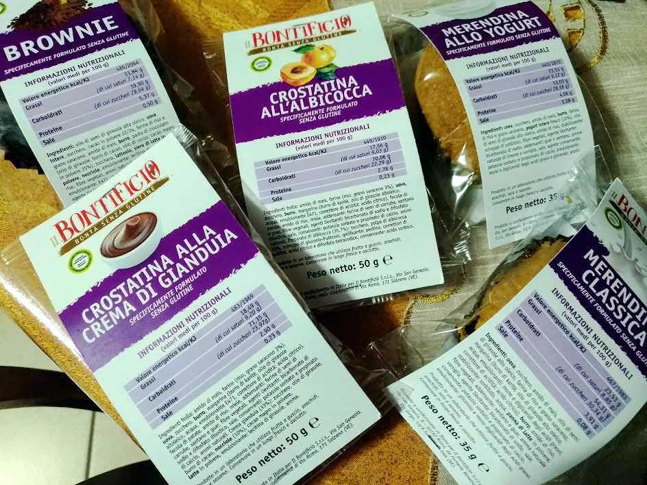 Crostatine NO glutine e lattosio