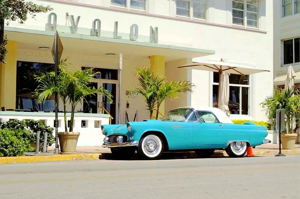 I vantaggi di vivere a Miami Beach , auto antiche