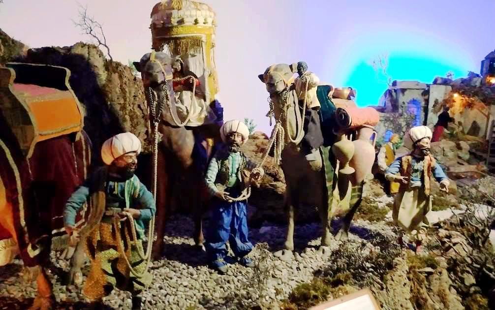 Santuario e Abbazia a Cava dei Tirreni- presepe di cava