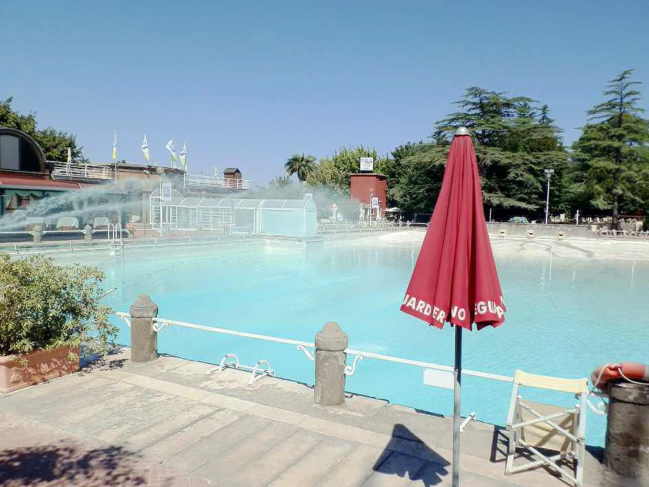 Terme dei Papi a Viterbo. piscina