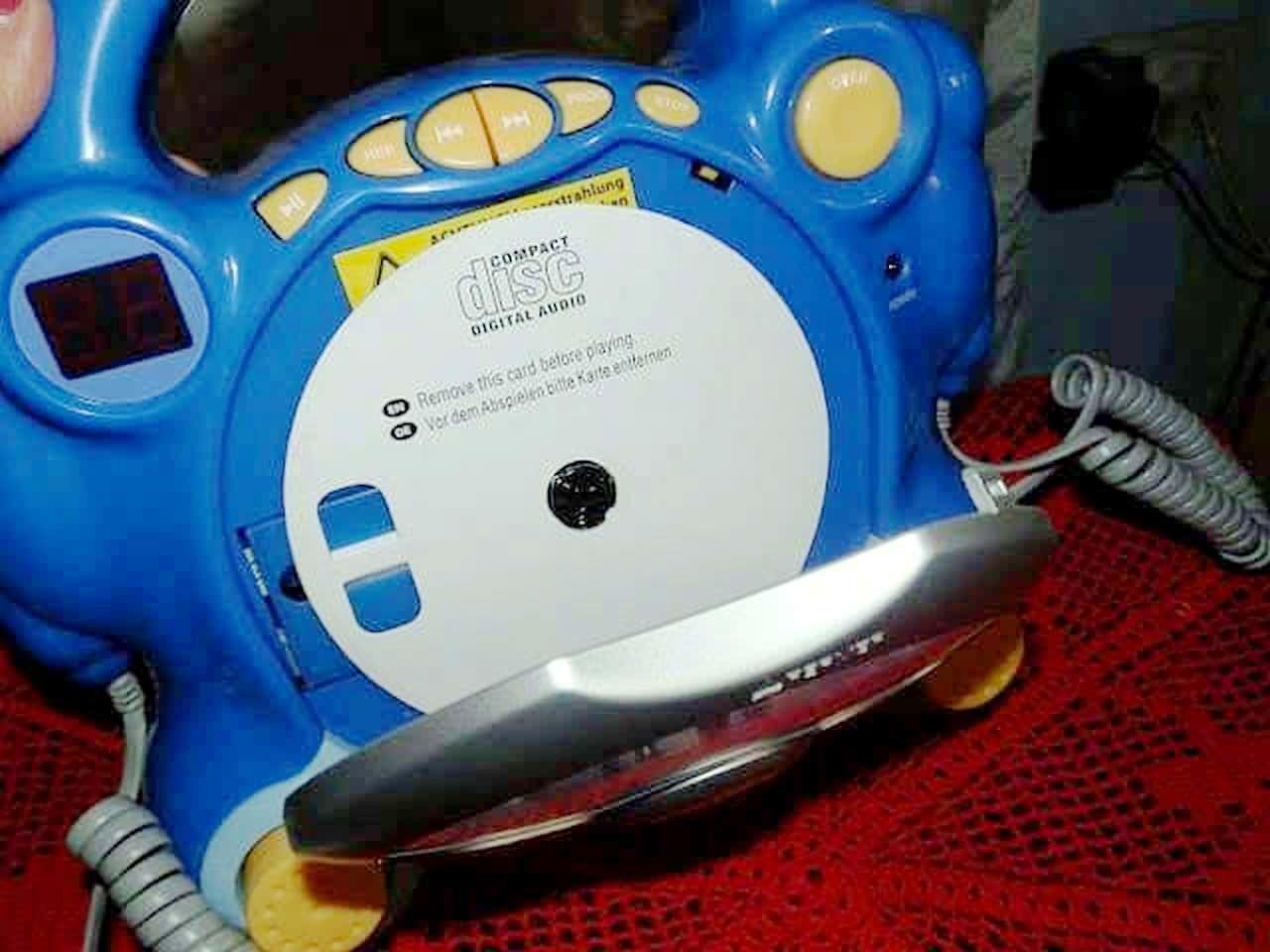 AUNA POCKET ROCKER: Lettore CD Karaoke per i bimbi